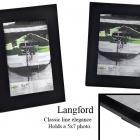 Langford 5x7 Black Frame