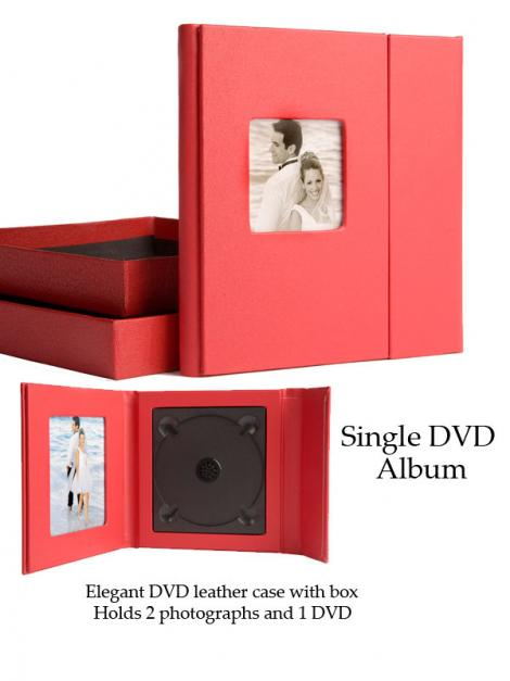 Single DVD Album: Single DVD Case and gift Box